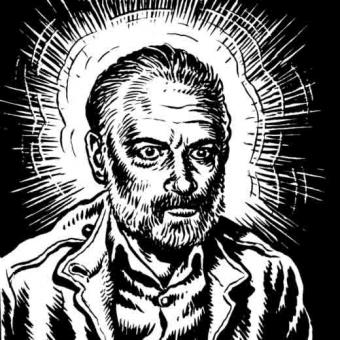http://www.philipkdickfans.com/resources/miscellaneous/the-religious-experience-of-philip-k-dick-by-r-crumb-from-weirdo-17/